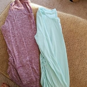 Liz Lange maternity tops